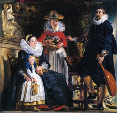 The Family of the Artist by Jacob Jordaens
