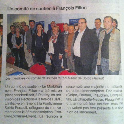 le Morbihan avec Francois Fillon - Ouest France