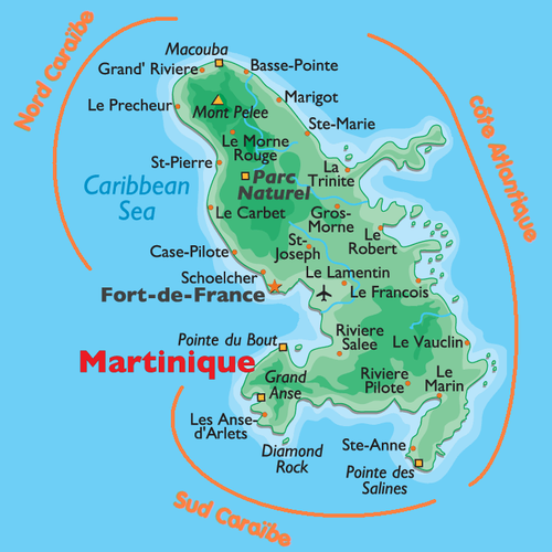 Martinique / Sainte-Lucie