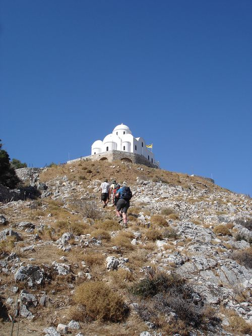 Ascension du Mont Zeus (1001 m) sur l'île de Naxos : un panorama splendide 2