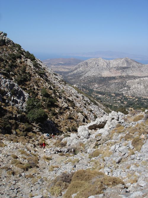 Ascension du Mont Zeus (1001 m) sur l'île de Naxos : un panorama splendide 11