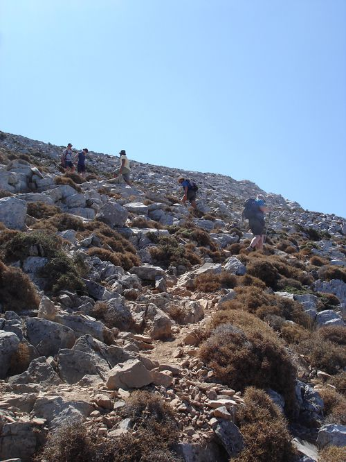 Ascension du Mont Zeus (1001 m) sur l'île de Naxos : un panorama splendide 20