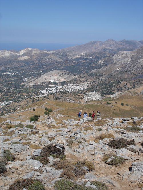 Ascension du Mont Zeus (1001 m) sur l'île de Naxos : un panorama splendide 22