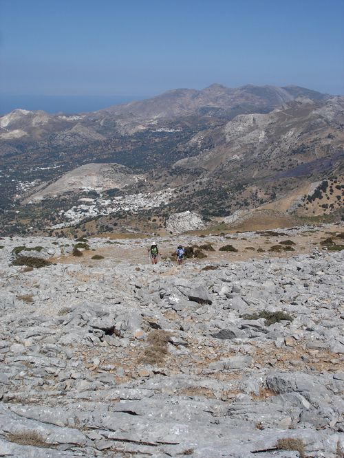 Ascension du Mont Zeus (1001 m) sur l'île de Naxos : un panorama splendide 23