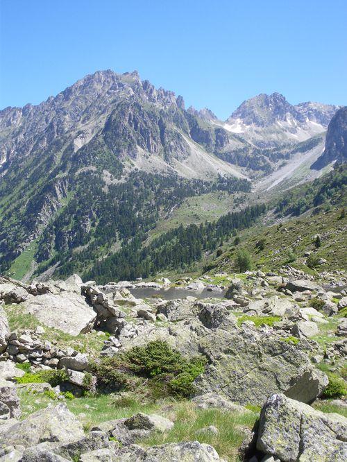 Randonnée Pyrénées : Les lacs de Liantran (1824 m) 40