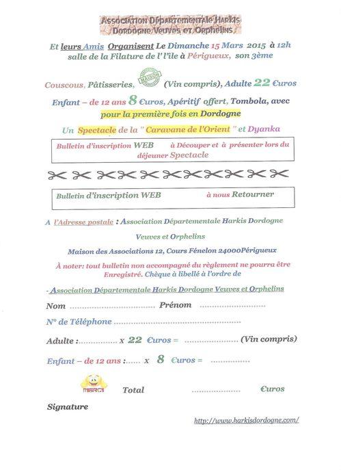 Bulletin site Web Couscous 15-03-2015