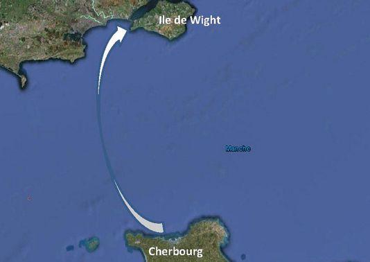 02 Carte Traversée de la Manche
