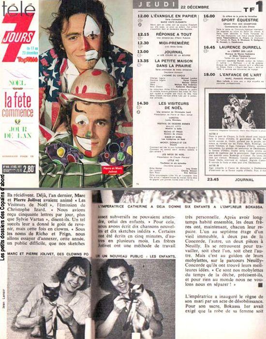 Télé 7 jours dec 1977