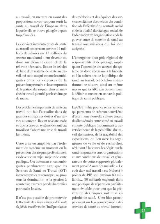 Visu brochure CGT avenir santé 25