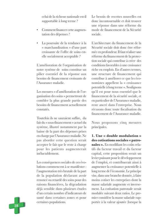 Visu brochure CGT avenir santé 28