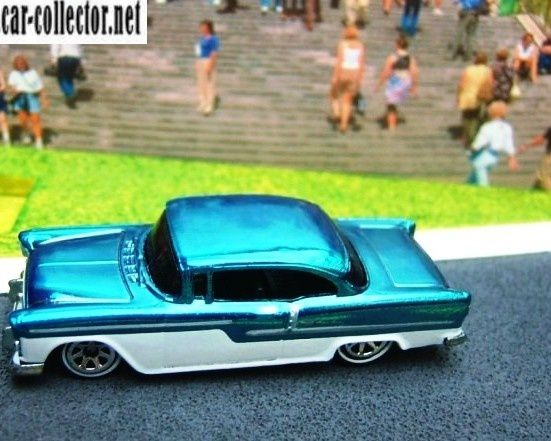 55 chevy berline bel air serie classics n°2 2006