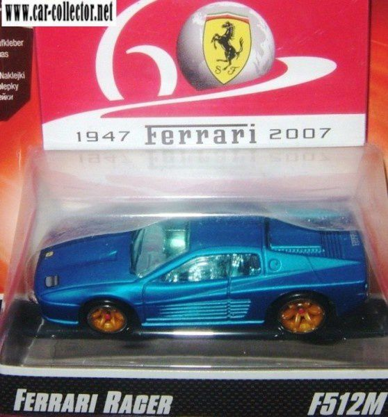 ferrari 512m blue 60th anniversary