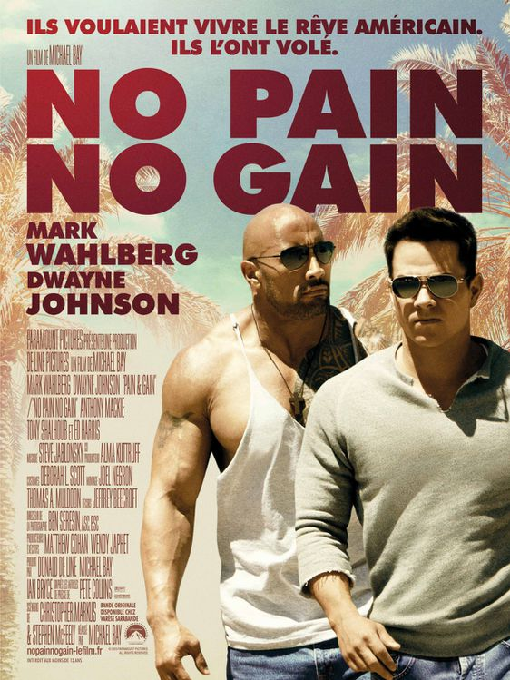 Affiche NO PAIN NO GAIN - BD