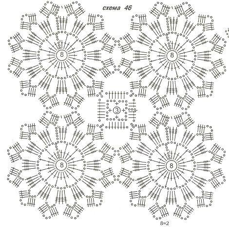 tunique motifs ronds.