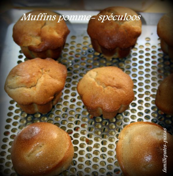 muffins pomme-speculoos 2