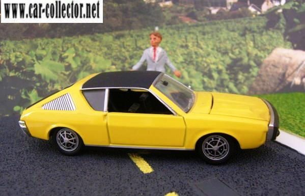 renault 17 r17 ts 1972 les miniatures de norev (2)