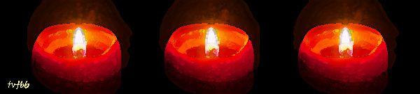 Trois bougies 1