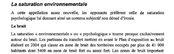 NDDL saturation environnementale page 19