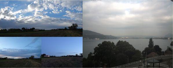 orage aviocorde quotidienne Provence Annecy