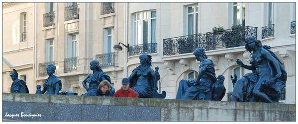 Paris Musee Orsay les 6 continents