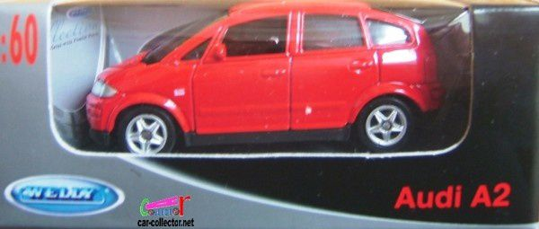 audi a2 rouge welly (1)