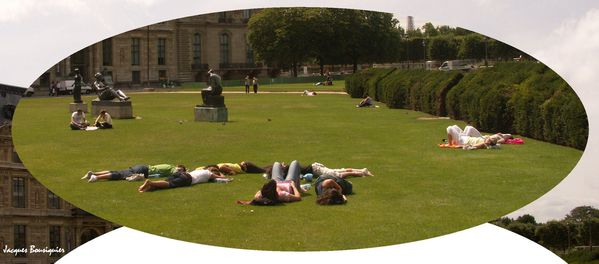 Paris Bronzage aux Tuileries