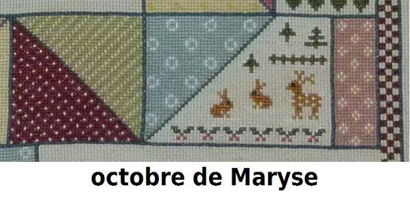 10. octobre de Maryse