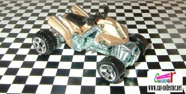 sand stinger-moto-quad- 2008 #043 hot wheels stars