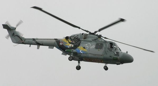Lynx helIco Aéronavale Guillaume Rueda