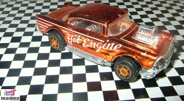 chevy 57 majorette tampo hot engine