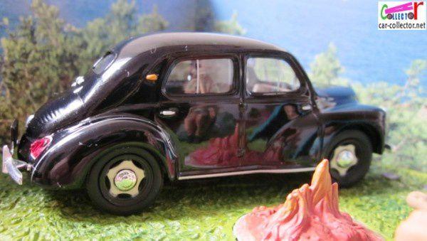 diorama-renault-4cv-rn7-le camping- corniche d'or