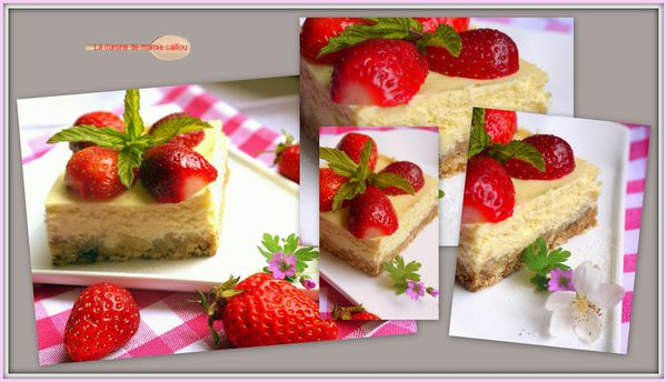 mosaique cheese cake made in USA