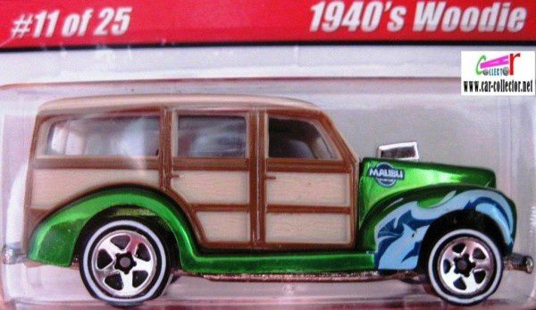 1940 ford woodie serie classics 1 2005