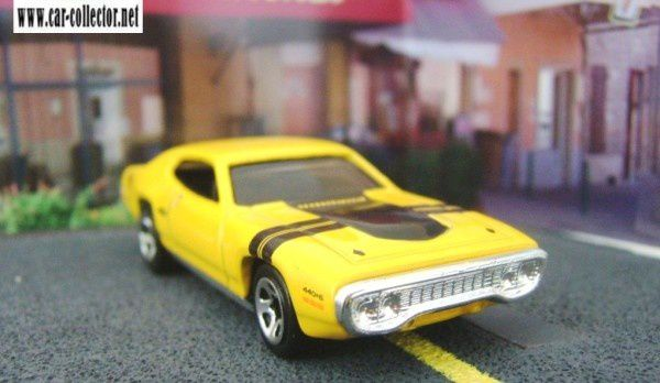 71 plymouth gtx 2005.101 muscle mania calandre argent