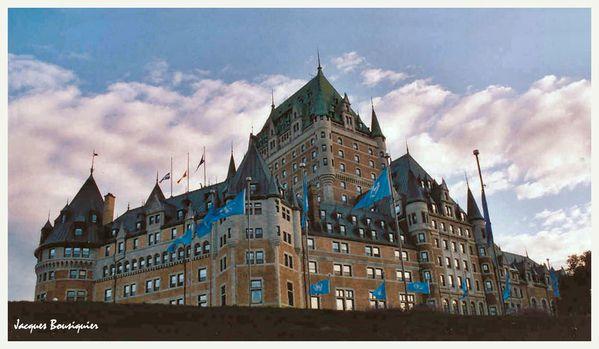 Quebec ville Chateau Frontenac