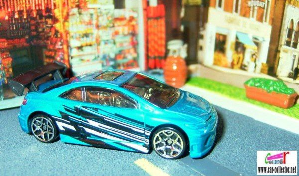 honda civic si coupe 2007.100 hot wheels stars