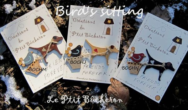 bird stiching