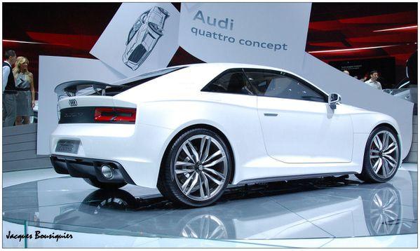 Audi Quatro concept Mondial Automobile 2010 a