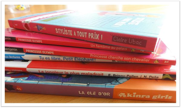 lecture petite fille 6 ans Lili Chantilly Kinra Girls
