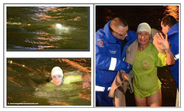 Evelyne Peronne Traversee de l'Oise a la nage 3