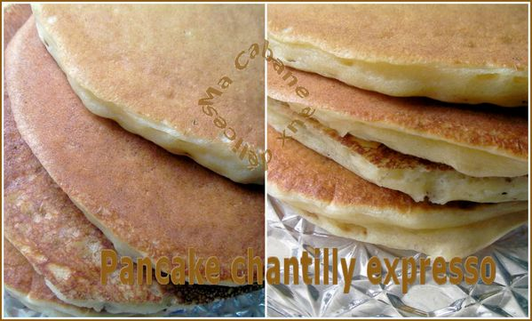 Pancake chantilly express montage