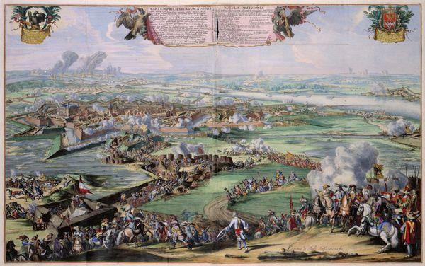 plan de philipsburg 1676