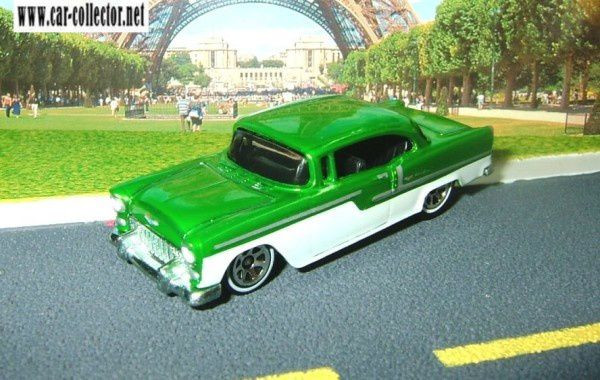 55 chevy berline bel air classics series 2006 n°2 (1)