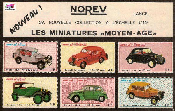 13-catalogue-norev-1967-201-juvaquatre-simca5-peugeot-5cv-simc