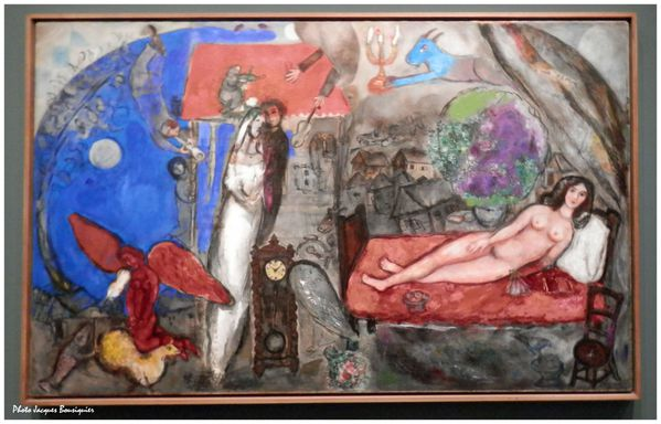 Chagall A ma femme Musee du Luxembourg Paris