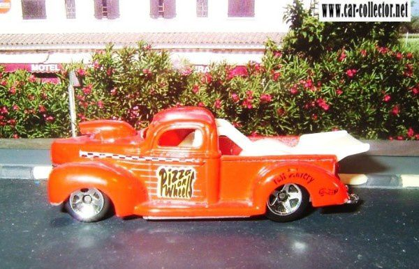 40 ford pickup hot wheels pack 5 house calls 1999