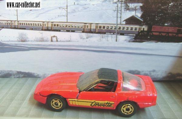 80S corvette park n plates 1989