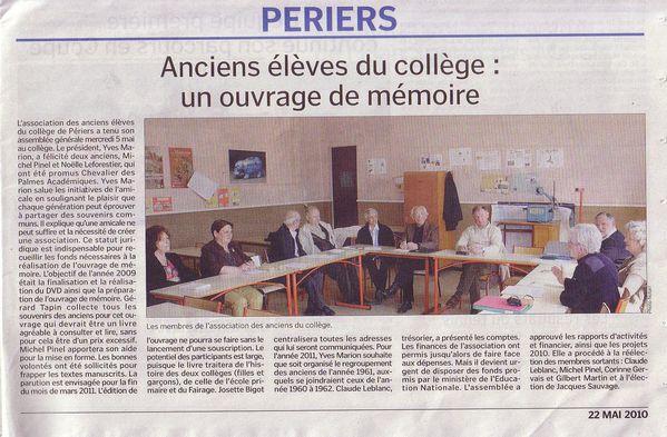 AG CC Périers 2010