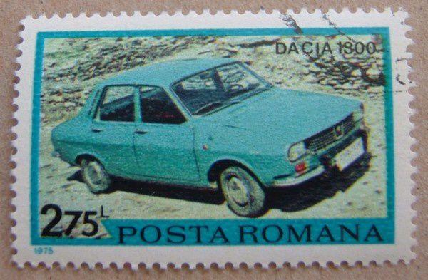 dacia 1300 renault 12 r12 dacia 1300 timbre posta romana