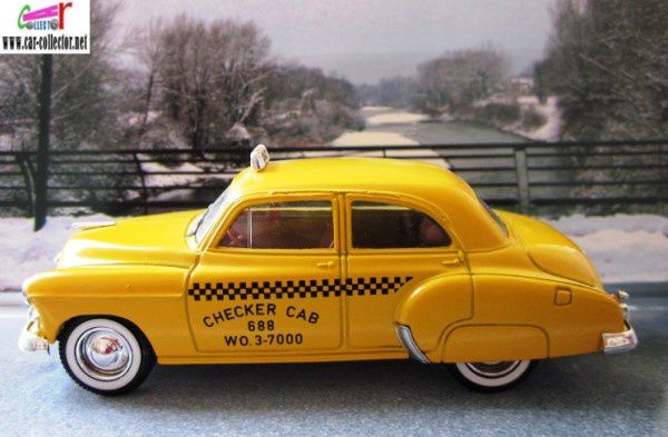 chevrolet sedan 1950 taxi solido checker cab